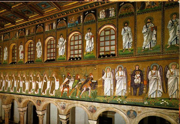 Driekoningenafbeelding - Oostelijke mozaiek ...